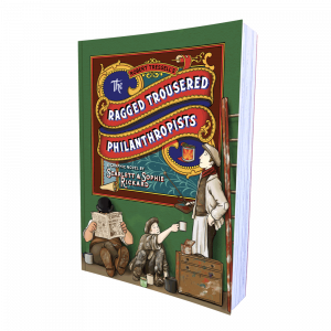 The Ragged Trousered Philanthropists graphic novel by Scarlett and Sophie Rickard